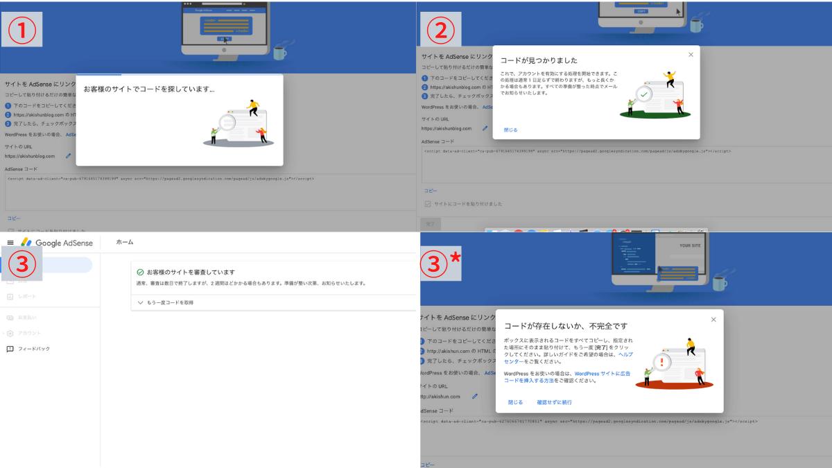 Googleアドセンス手順8