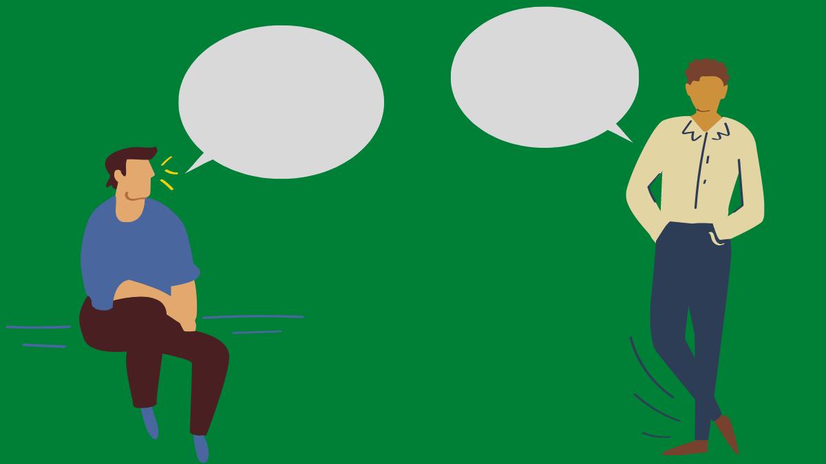 吹き出し会話