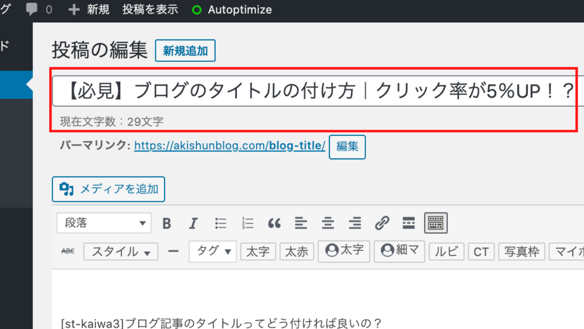 WordPress文字数
